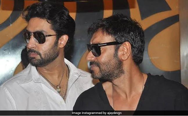 Ajay Devghan And Abhishek Bacchan
